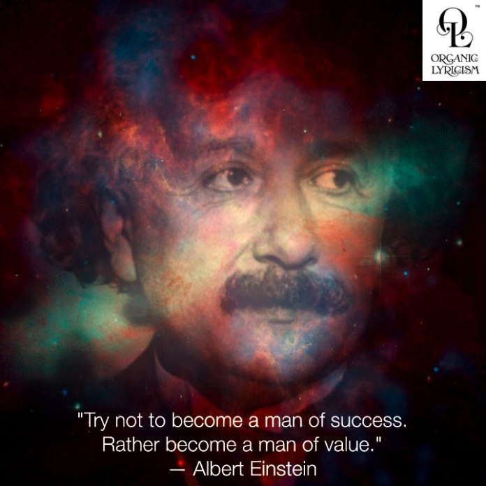 Albert Einstein's Quote About Success